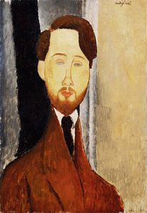 Amedeo Modigliani - 肖像利奥波德Zborowski的