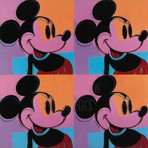 Andy Warhol - Mickey-Mouse