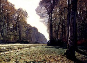 Claude Monet - 道路CHAILLY