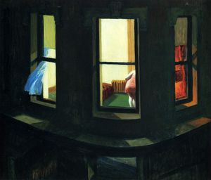 Edward Hopper - 夜的Windows