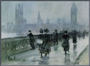 Frederick Childe Hassam - Westminster-Bridge