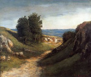 Gustave Courbet - 指数Paysage guyere