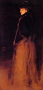 James Abbott Mcneill Whistler - 安排 在  黑色  和  棕色