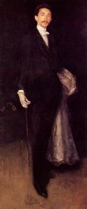 James Abbott Mcneill Whistler - 安排 在  黑色  和  金