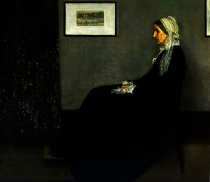 James Abbott Mcneill Whistler - 安排 在 灰色 和 黑