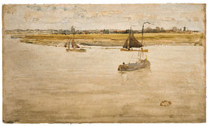 James Abbott Mcneill Whistler - 金色和棕色