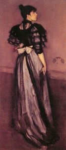 James Abbott Mcneill Whistler - 珍珠母,银安达卢西亚