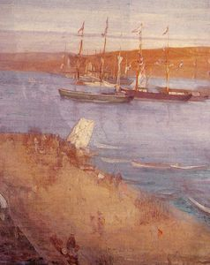 James Abbott Mcneill Whistler - 早晨起床后 的  革命