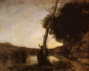 Jean Baptiste Camille Corot - 黄昏之星