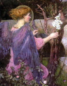 John William Waterhouse - 报喜