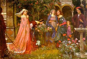 John William Waterhouse - 魔法花园
