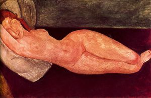 Amedeo Modigliani - 无 1697