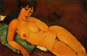 Amedeo Modigliani - 无 9172
