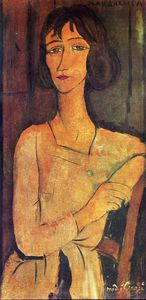 Amedeo Modigliani - 无题(5997)