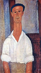 Amedeo Modigliani - 无题(8127)