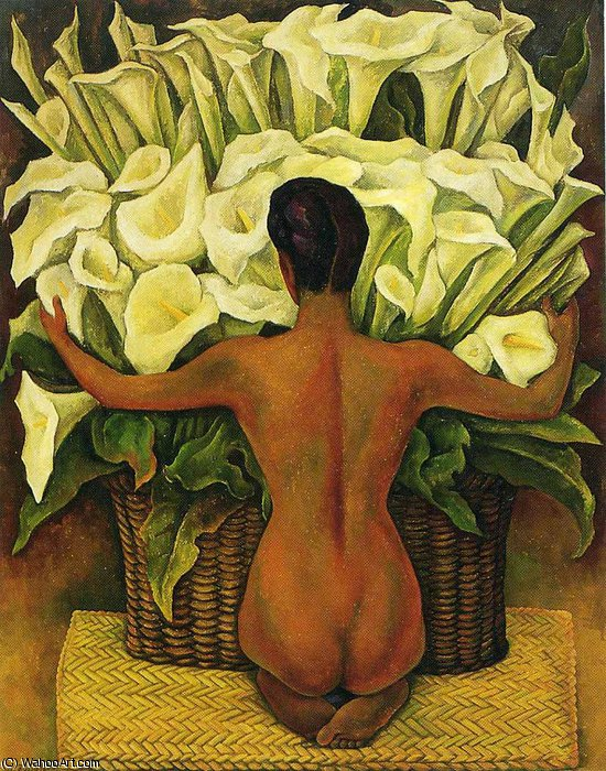 无 (8108) 通过 Diego Rivera (1886-1957, Mexico) | 畫再現 | WahooArt.com