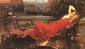 John William Waterhouse -  无 (6668)
