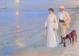 Peder Severin Kroyer - 塔尔德日维拉诺EN斯卡恩