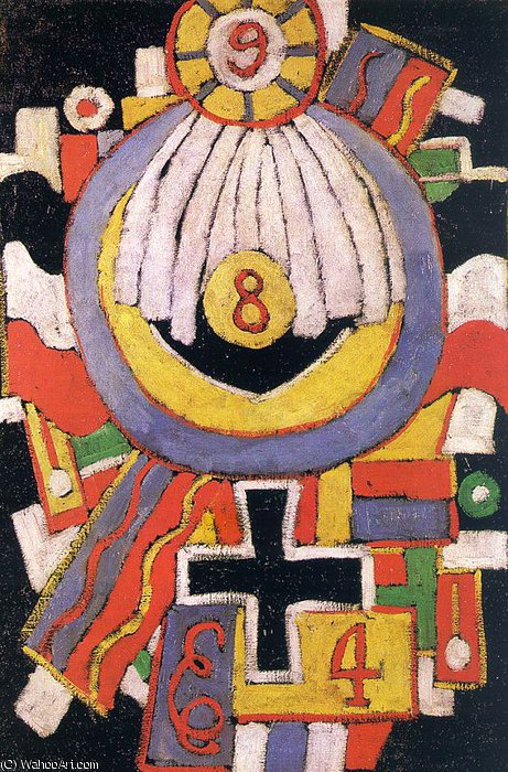 无 (8207) 通过 Marsden Hartley (1877-1943, United States) | WahooArt.com