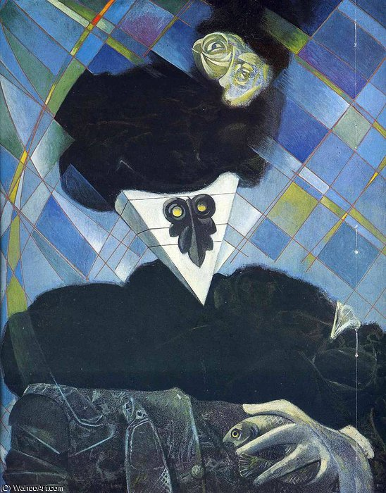 无 5450   通过 Max Ernst (1891-1976, Germany)