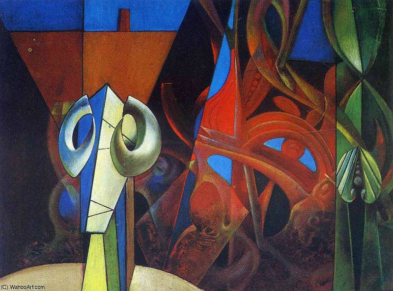 无 8351   通过 Max Ernst (1891-1976, Germany)