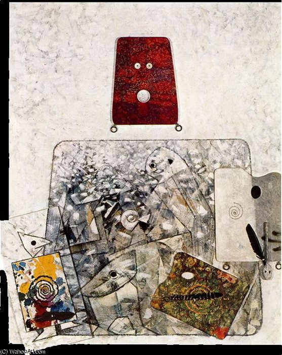无 3054   通过 Max Ernst (1891-1976, Germany)