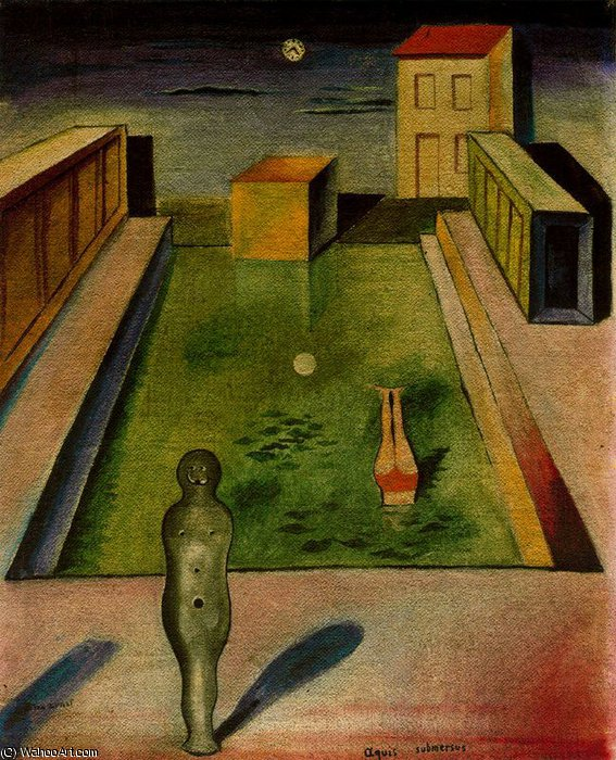 无 (8230) 通过 Max Ernst (1891-1976, Germany)