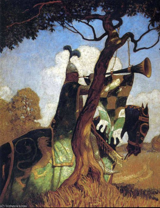 无 3714   通过 Nc Wyeth (1882-1945, United States) | 藝術再現 Nc Wyeth | WahooArt.com