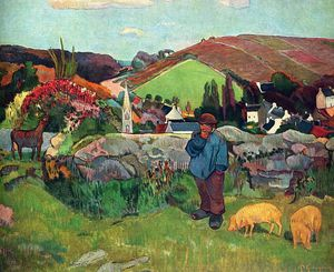 Paul Gauguin - 无题(6545)