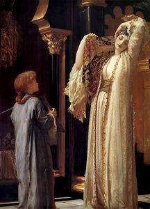 Lord Frederic Leighton - 后宫之光