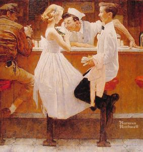 Norman Rockwell - 舞会后,