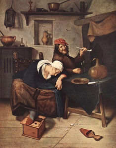 Jan Havicksz Steen - 酒量