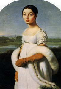 Jean Auguste Dominique Ingres - 小姐里维埃尔