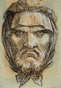 Pierre-Paul Prud'hon - Proud-hon 皮埃尔 保罗  肖像 man