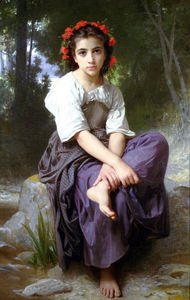 William Adolphe Bouguereau - 金杜BORD Ruisseau酒店