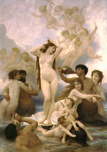 William Adolphe Bouguereau - 诞生 德  金星