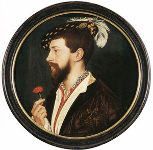 Hans Holbein The Younger - 肖像 西蒙  乔治
