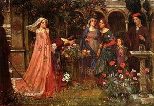 John William Waterhouse - 在翠乐庭JW
