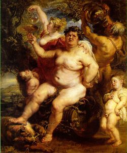 Peter Paul Rubens - 巴克斯