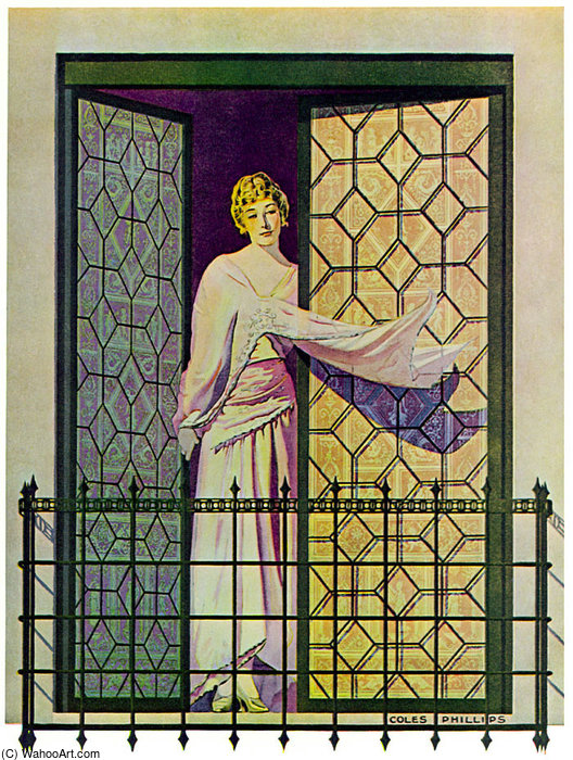 无题(818) 通过 Coles Phillips (1880-1927, United States)