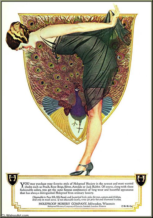 无 985   通过 Coles Phillips (1880-1927, United States) | 幀畫冊專輯 | WahooArt.com
