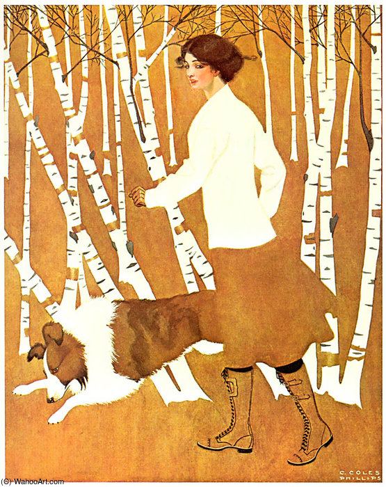 无 647   通过 Coles Phillips (1880-1927, United States)