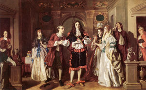 William Powell Frith - 从的Molieres拉瓦雷的场景