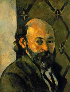 Paul Cezanne - Selfportrait , 钙 泰特 画廊