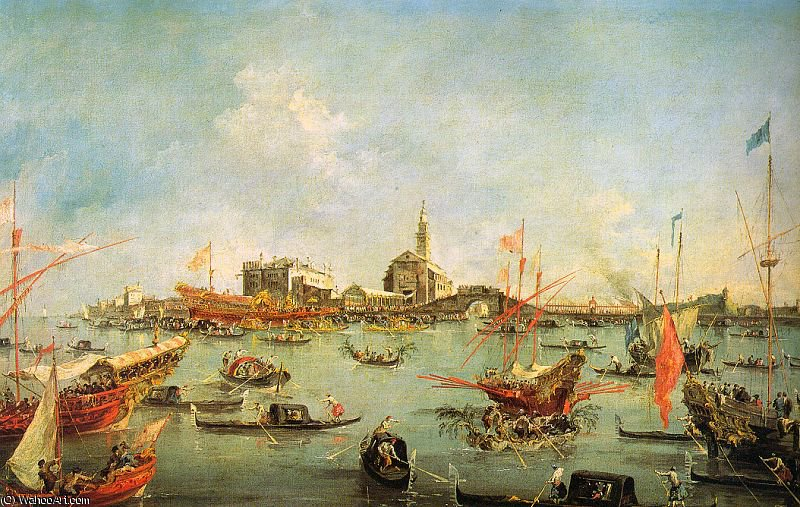 无 (534) 通过 Francesco Lazzaro Guardi (1712-1793, Italy) | 畫再現 | WahooArt.com