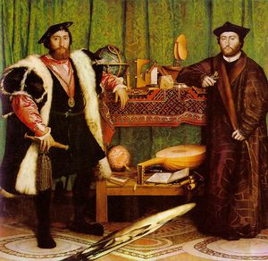 Hans Holbein The Younger - 大使  国家  画廊  在  伦敦