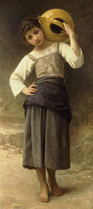 William Adolphe Bouguereau - 喜臻艺术精品豪情Allant一拉封丹