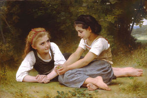 William Adolphe Bouguereau - 莱斯 noisettes
