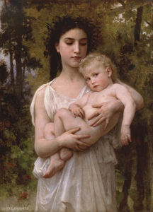 William Adolphe Bouguereau -  小  兄弟