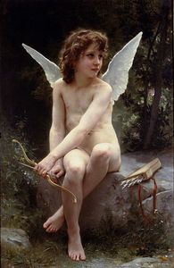 William Adolphe Bouguereau - 爱 对  的  看  出
